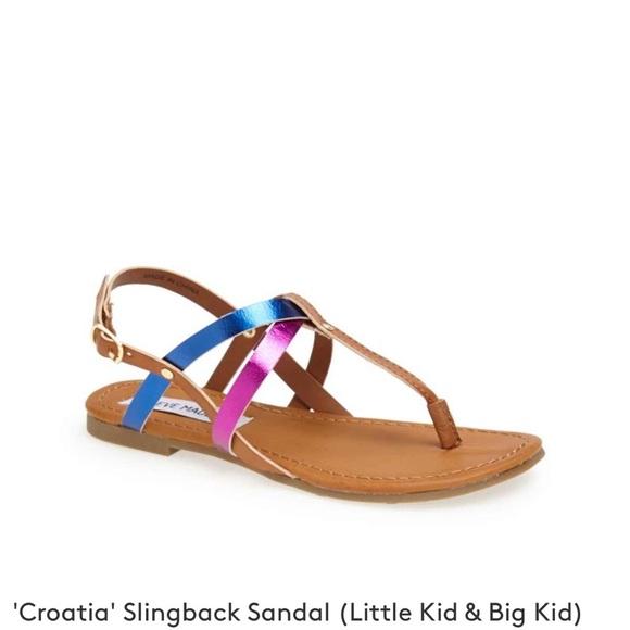 Steve Madden Shoes   Girls Sandals Size